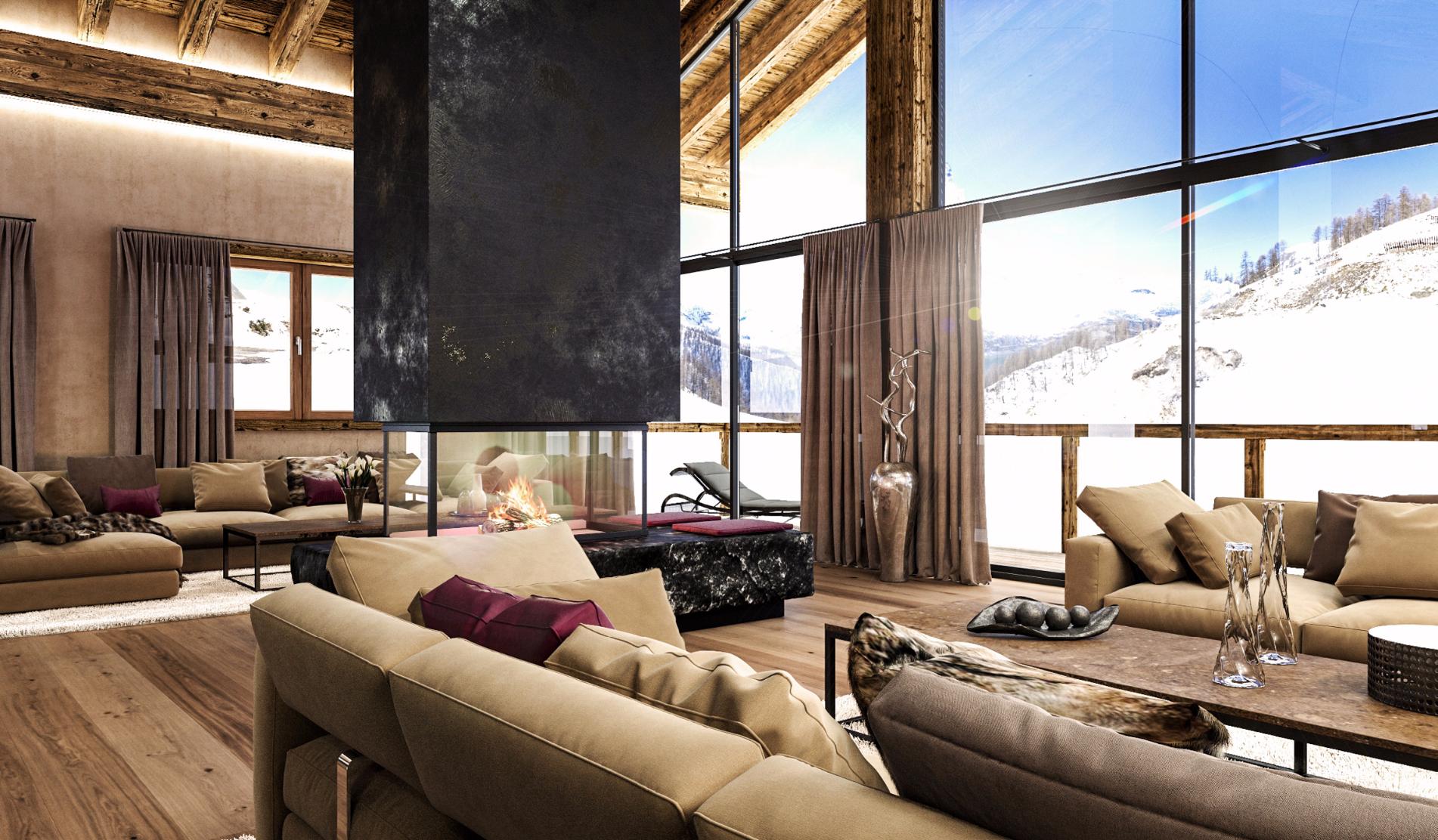diesigner - Modern Design meets the Swiss Alp Chalet